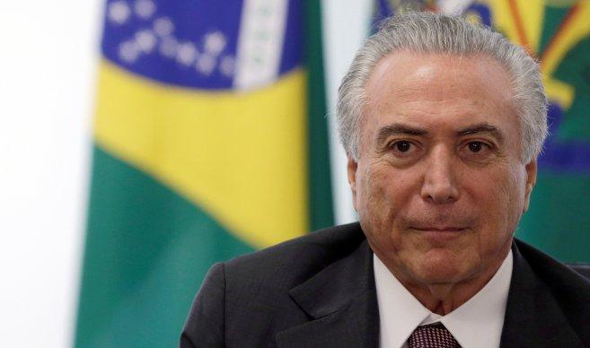 Temer descarta la reelección y presenta la candidatura de Henrique Meirelles