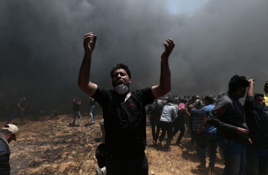 Tensión total en Gaza por apertura de embajada de Estados Unidos en Israel