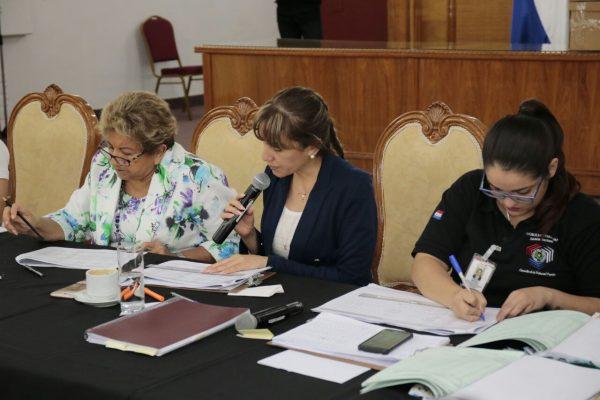 Ministra del TSJE participa de cómputo definitivo correspondiente al Alto Paraná