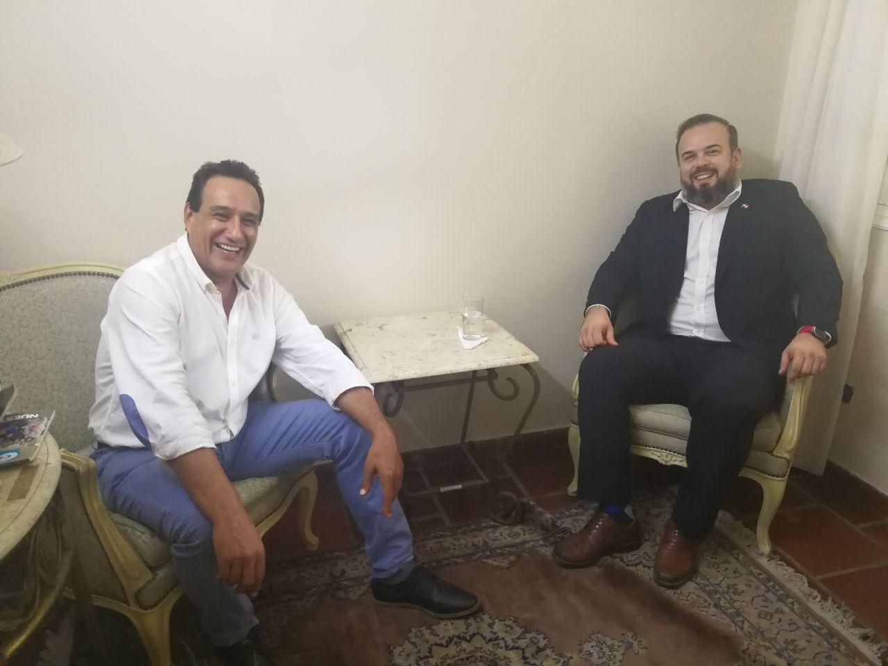 El Ministro Ariel Martínez y el Gobernador Hugo Javier ya coordinan para la expansión del Grupo Lince en Central