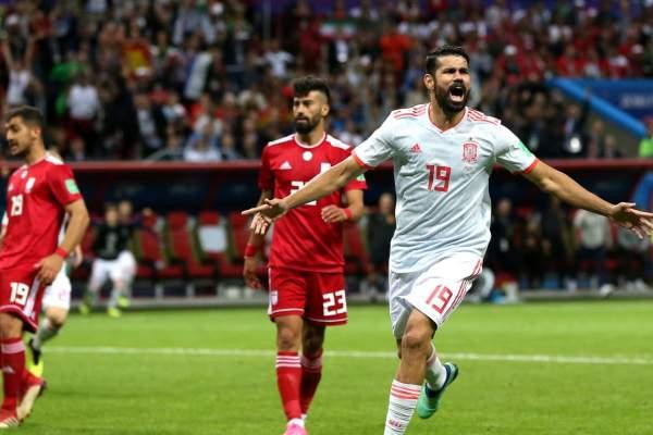España le gana 1-0 a Irán y lidera el Grupo B