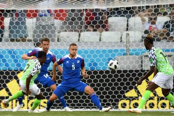 Islandia Nigeria Rusia 2018 FIFA