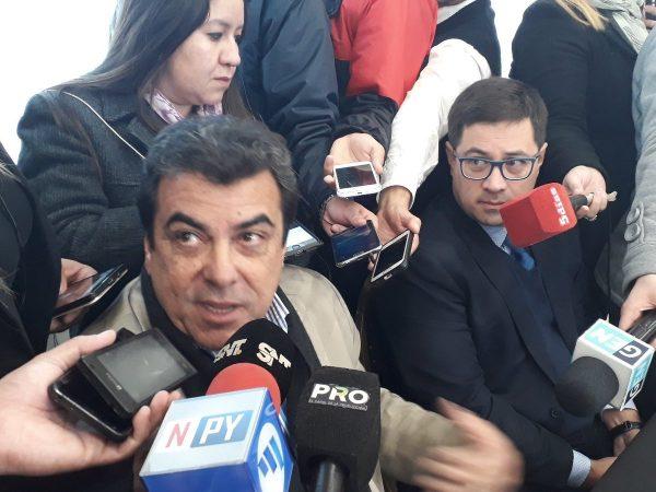 Jair de Lima y Pedro Ovelar