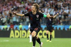 Modric Argentina Croacia Rusia 2018 FIFA