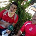 Richard Pereira y su padre Ramón gatillo fácil