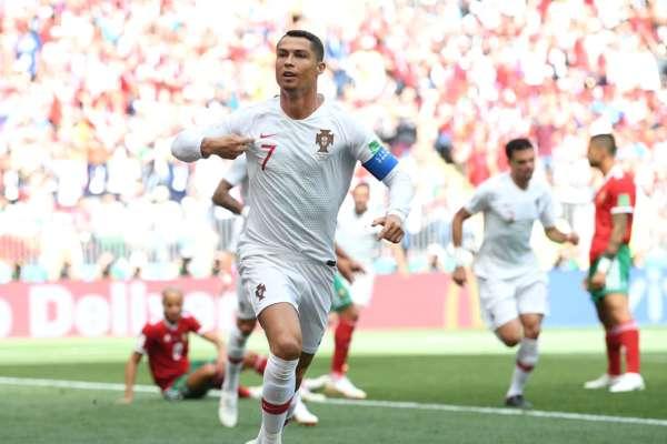 Portugal elimina a Marruecos con cabezazo de Ronaldo