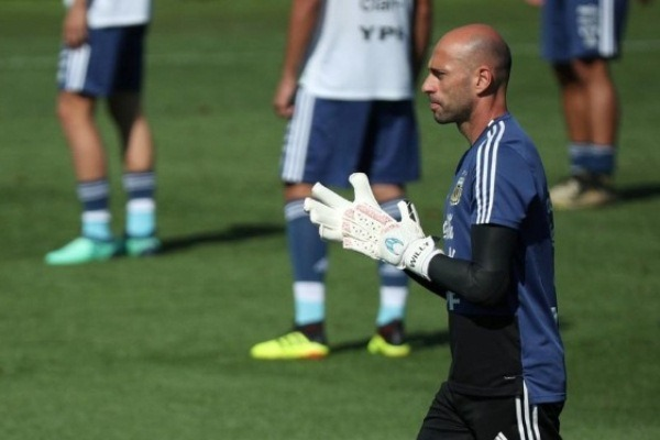 Willy Caballero Rusia 2018 Reuters