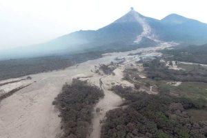 cultivos volcan de Fuego Guatemala