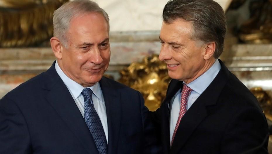 Netanyahu habla con Macri para que evite la suspensión del partido Argentina-Israel