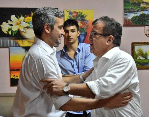 Marito Abdo Benítez y Nicanor Duarte Frutos