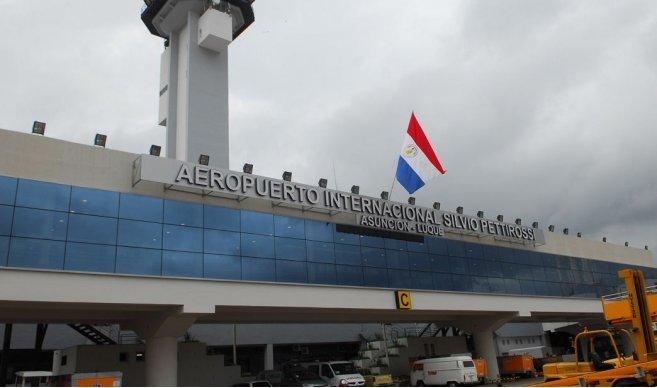 Aeropuerto Silvio Pettirossi Asunción Luque ÚH