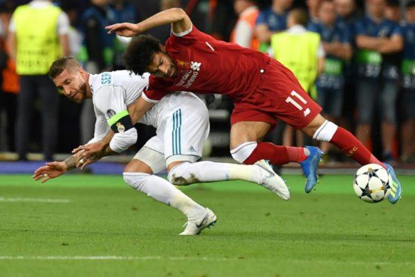 Sergio Ramos Mohamed Salah
