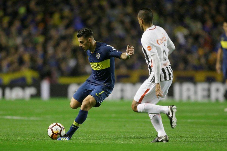Boca Libertad Copa Libertadores 2018 Octavos Ida