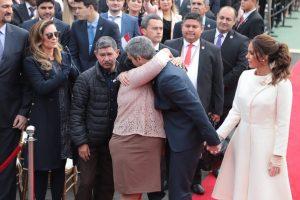 Mario Abdo Benítez Obdulia Florenciano Edelio