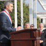 Mario Abdo beníez discurso presidencial