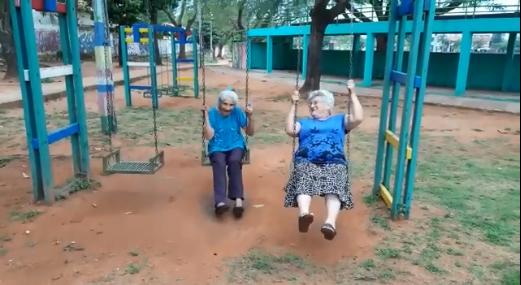 Conocé a las abuelitas más divertidas y juguetonas de Itá