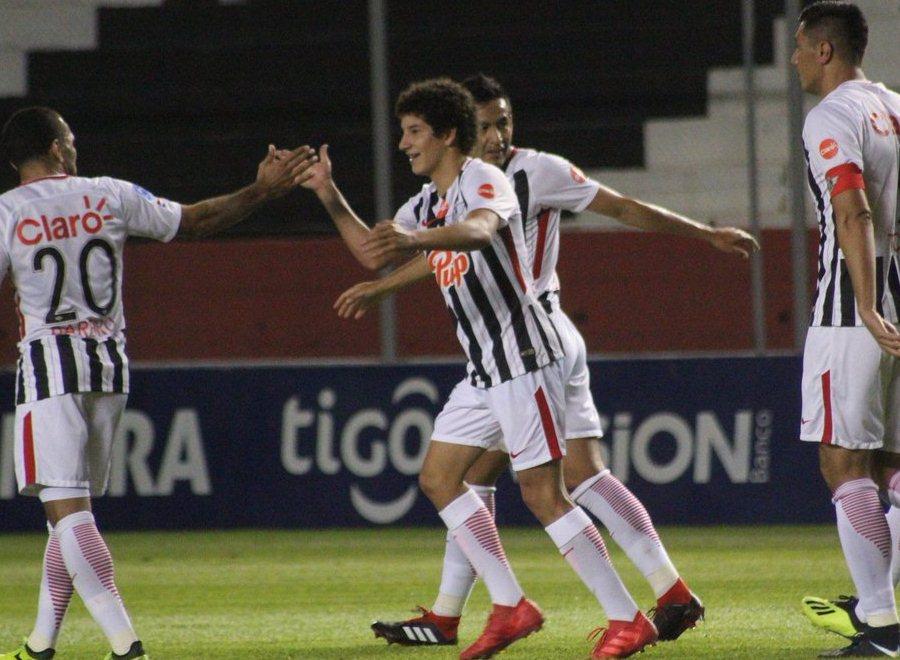 Iván Franco Libertad Clausura 2018 fecha 10 APF