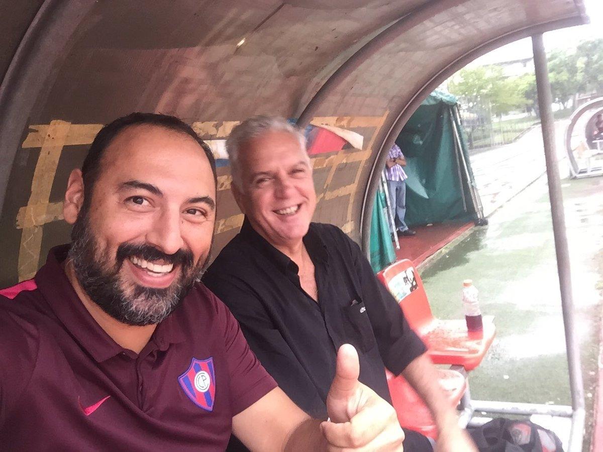 Raúl Zapag y Daniel Enríquez