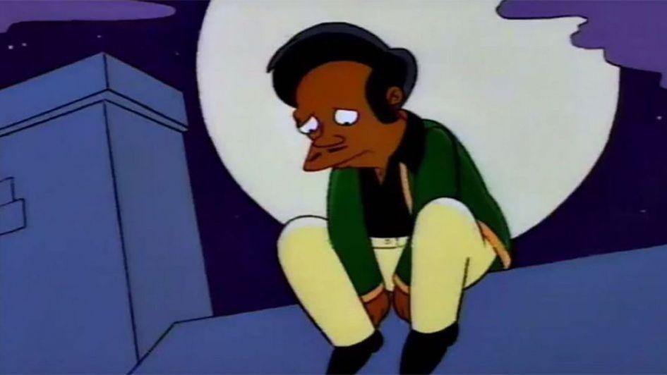 Apu se va de Los Simpsons