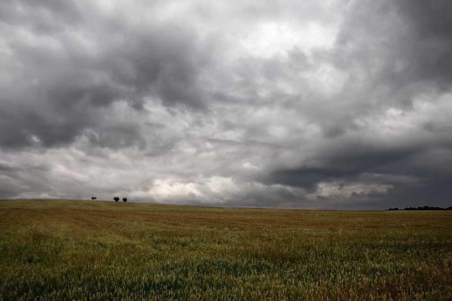 lluvias tormenta clima campo