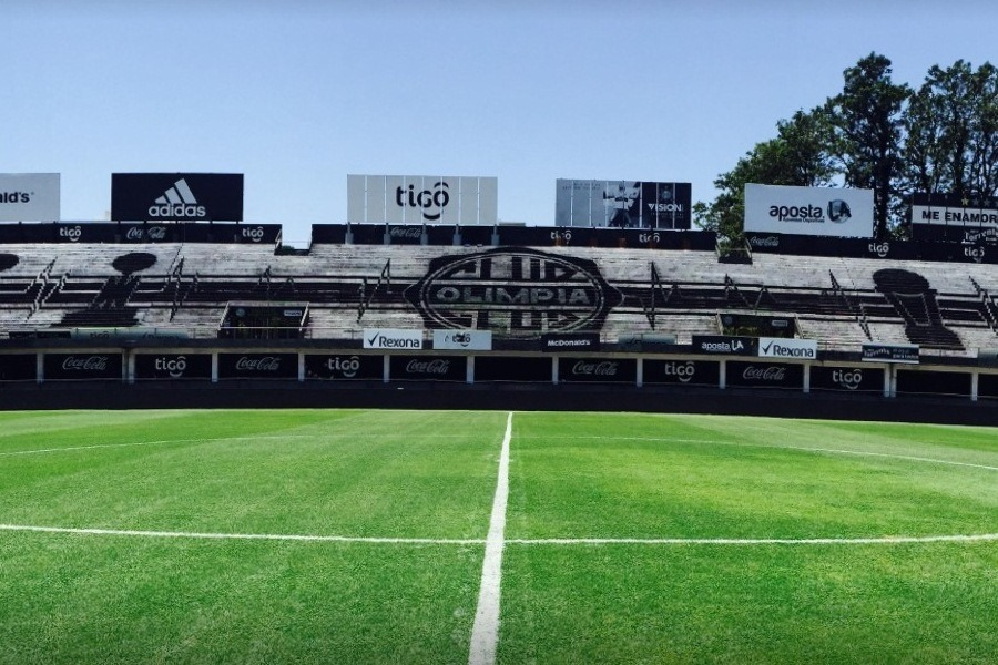 Club Olimpia estadio Manuel Ferreira