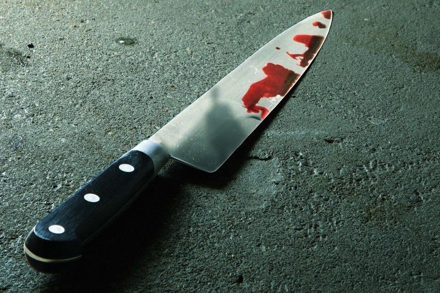 Cuchillo muerte asesinato crimen ilustrativo