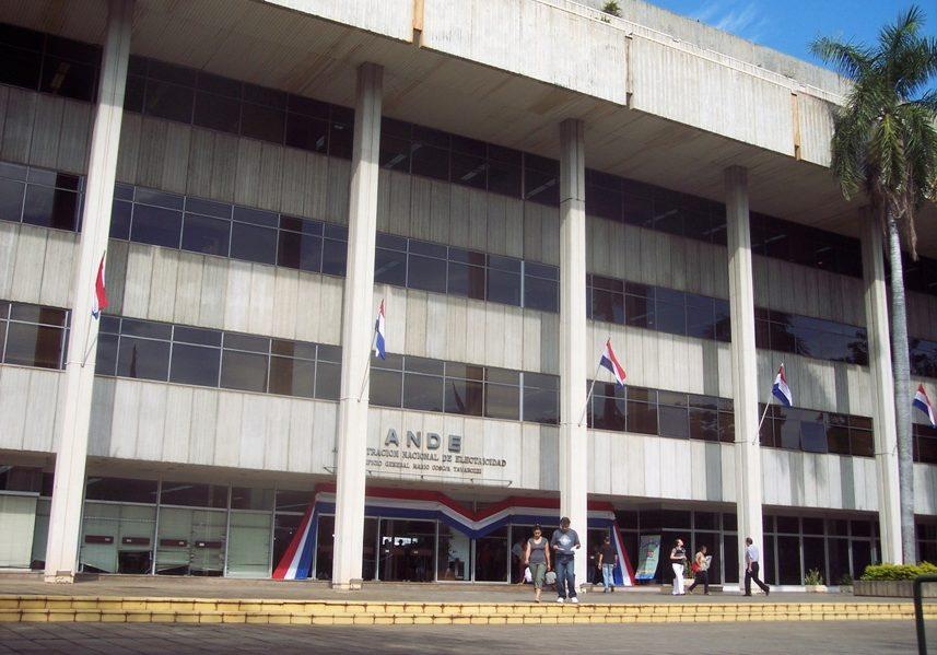 fachada sede ANDE ANDE