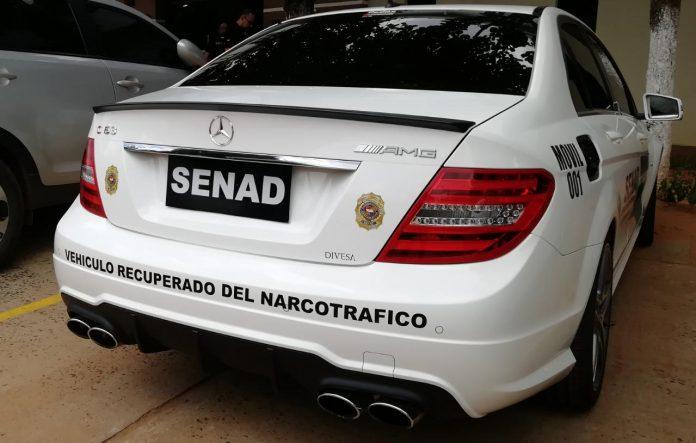 Senad comienza a utilizar vehículos incautados a narcotraficantes