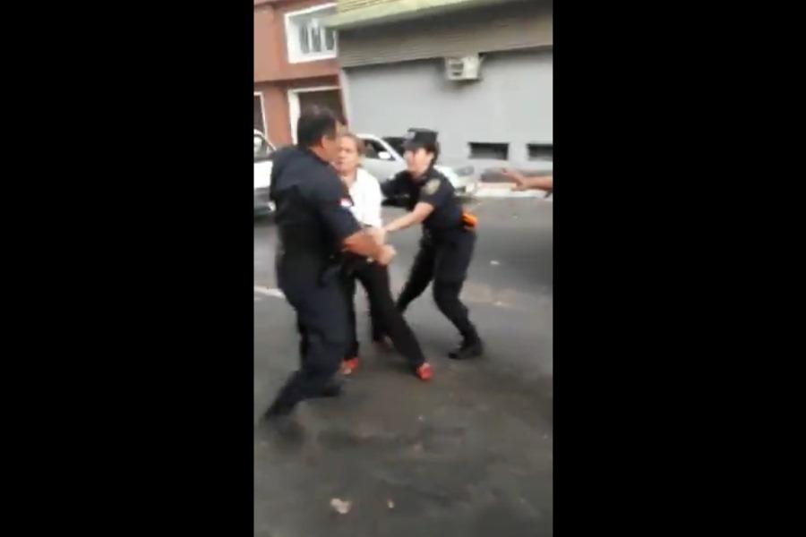 Arresto abogada de indígenas
