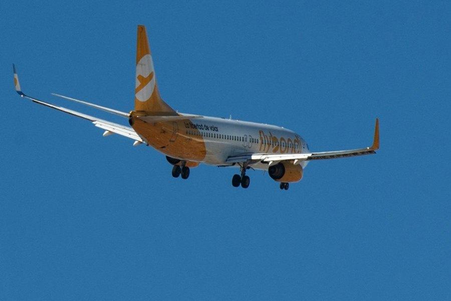 Flybondi avión