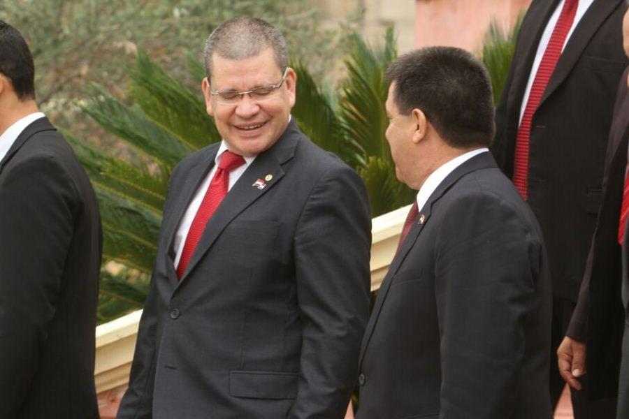 Horacio Cartes y Tony Barrios