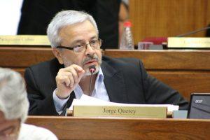 Jorge Querey frente guasu SENADO