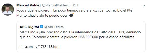 """""""Mario Abdo es un malagradecido con Cucho Cabaña"""", asegura el abogado"""