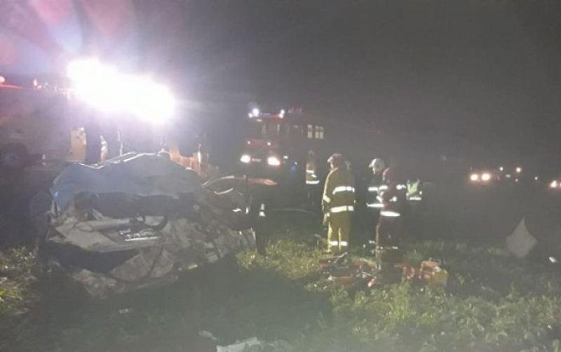 Tres personas mueren en accidente de tránsito sobre la ruta 6