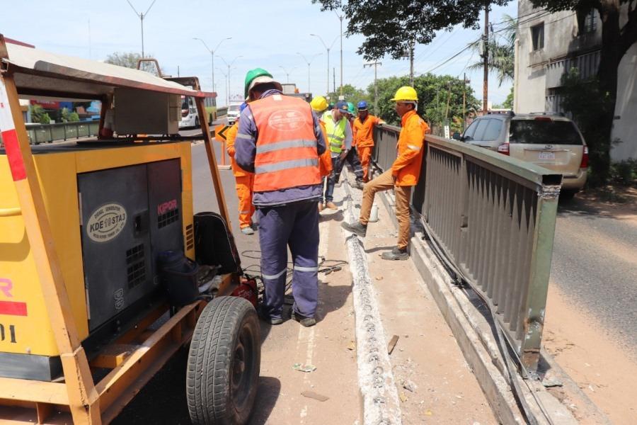 Adecuación de viaducto 4 Mojones MOPC