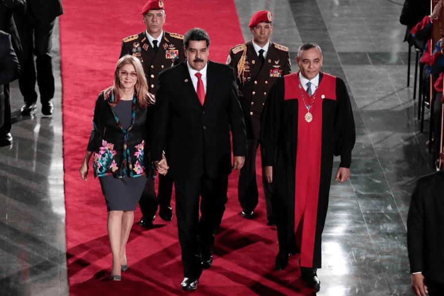 Nicolás Maduro asume su segundo mandato presidencial en Venezuela PRESIDENCIA VEN