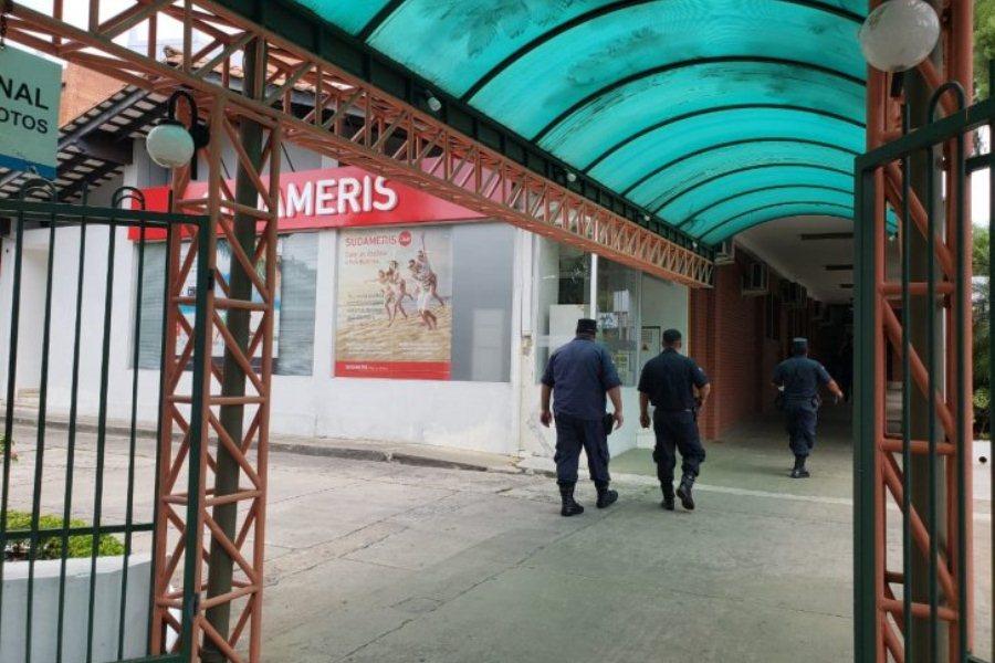 agencia banco Sudameris predio Hospital Bautista ÚH