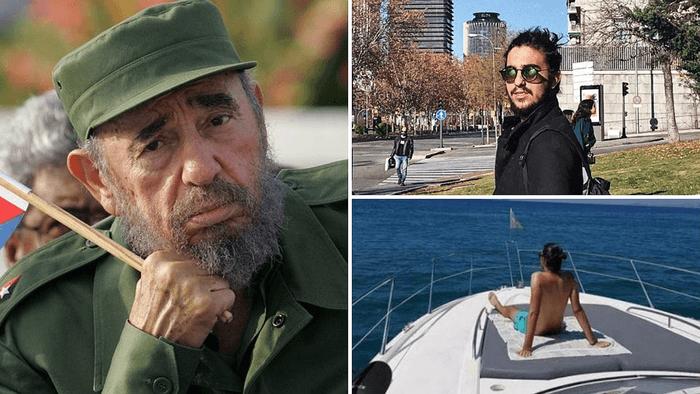 El lujoso estilo de vida del nieto de Fidel Castro causa indignación