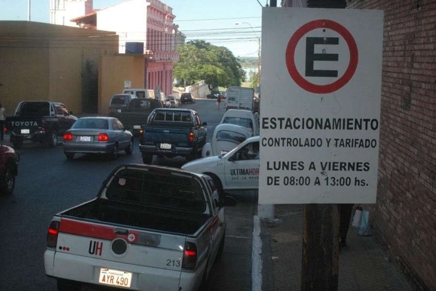 estacionamiento tarifado archivo ÚH