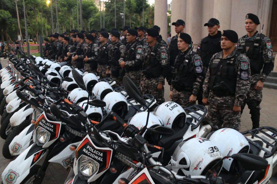 operativo centro seguro policías grupo Lince microcento asunceno comisarías TW INTERIOR 004