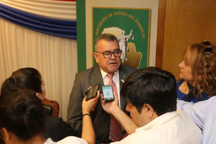 Jueces del Paraguay, Presidente Prof. Dr. Delio Vera Navarro ASO JUECES PY