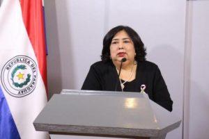 Ministra Teresa Martínez MINNA