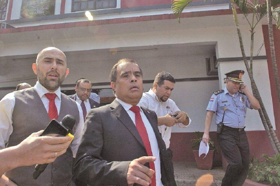 Roberto Cárdenas ex intendente de Lambaré ÚH
