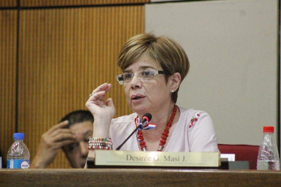 Senadora Desirée Masi SENADO