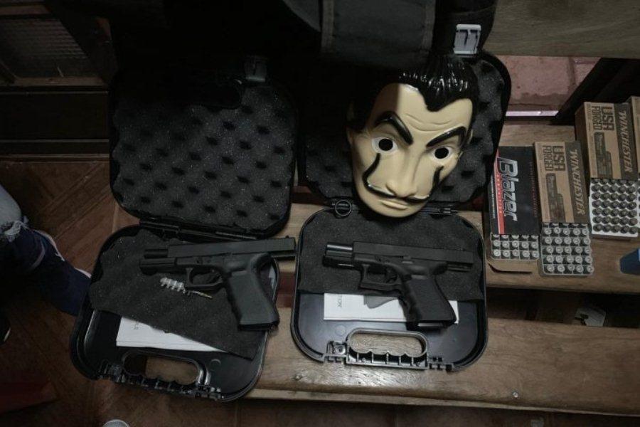 Armas y municiones: un aprehendido tras allanamiento en PJC