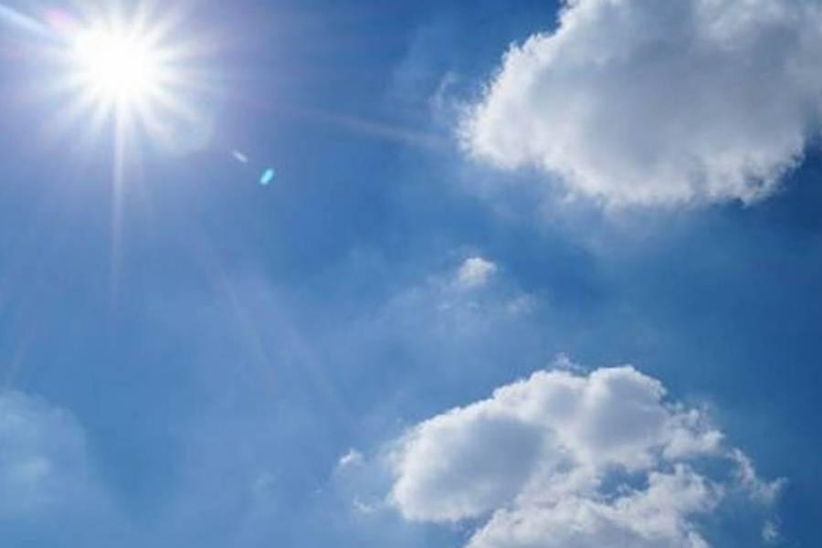 clima soleado temperaturas en aumento INTERNET