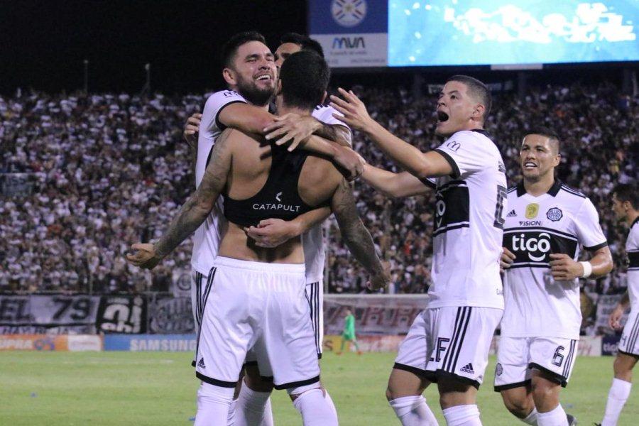 festejo olimpia cerro porteño apertura 2019 fecha 6 01 APF