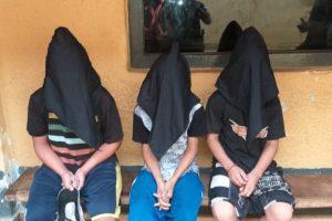 menores de edad detenidos por robar un auto en el centro de asunción LUQUE NOTICIAS