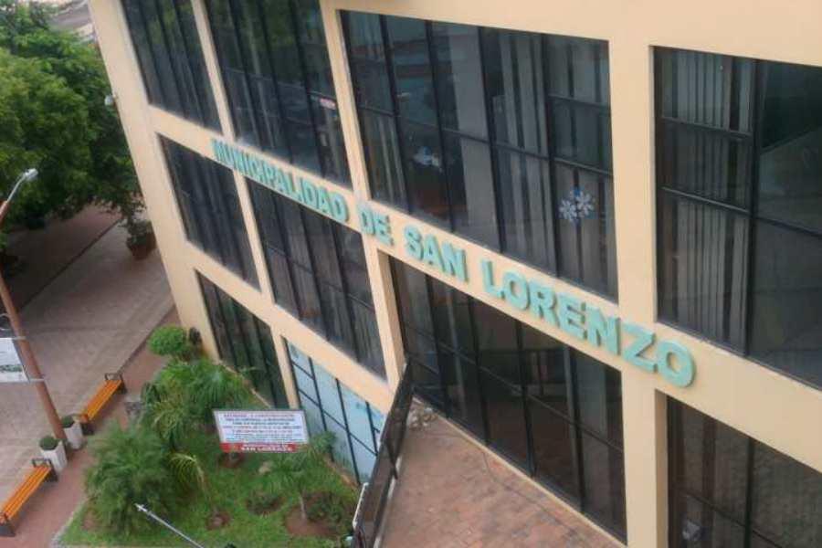 municipalidad de san lorenzo edificio SANLORENZOPY