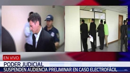 Una vez más suspenden audiencia en el caso Electrofácil